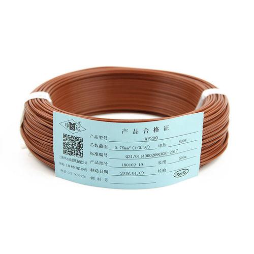 fil électrique isolé - Shanghai Shenyuan High Temperature wire Co., Ltd