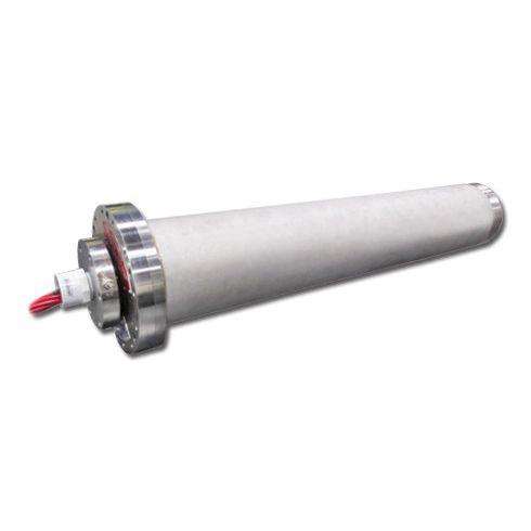 collecteur tournant pour raccord tournant à fibre optique / électrique / pour applications marines / en inox