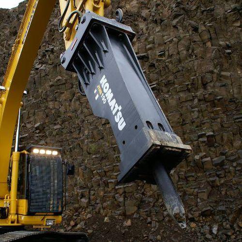 marteau piqueur hydraulique / pour pelle hydraulique / de démolition / vertical