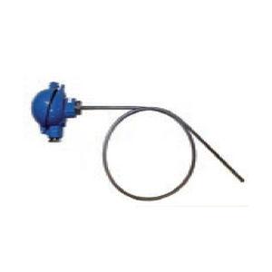 thermocouple / à insertion / avec isolation minérale / flexible