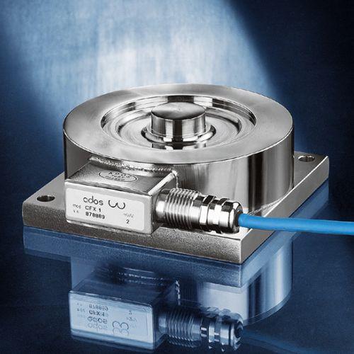 capteur de force en compression / type bouton / en acier inoxydable / de pesage