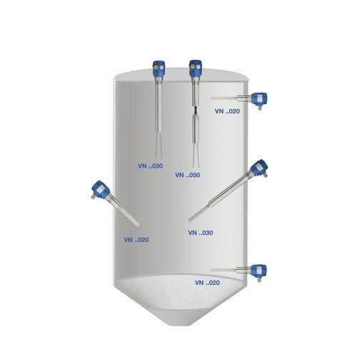 détecteur de niveau à lames vibrantes - UWT GmbH Level Control