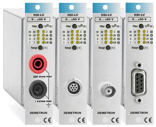 amplificateur de mesure / isolé / électronique