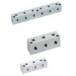 manifold multivoie / en acier inoxydable / pneumatique