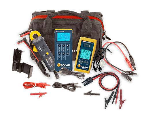 testeur pour installation photovoltaïque / de tension / de résistance d'isolement / de performance