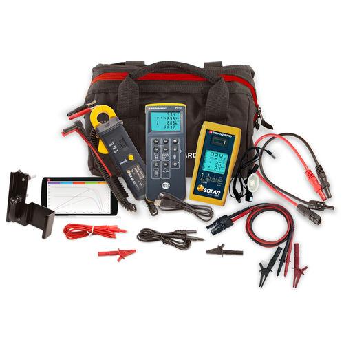 testeur pour installation photovoltaïque / de tension / d'isolement / de continuité