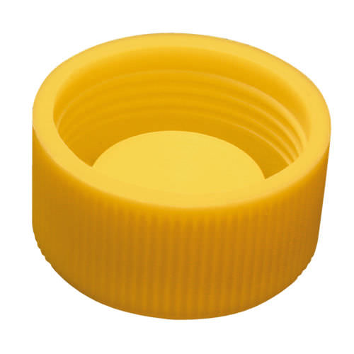 capuchon fileté / rond / en polyéthylène basse densité PEBD / de protection