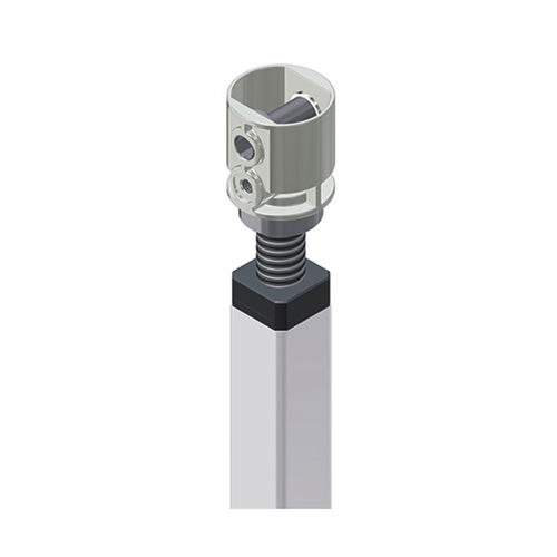 réducteur à couple conique / orthogonal / pour réglage de niveau de meubles