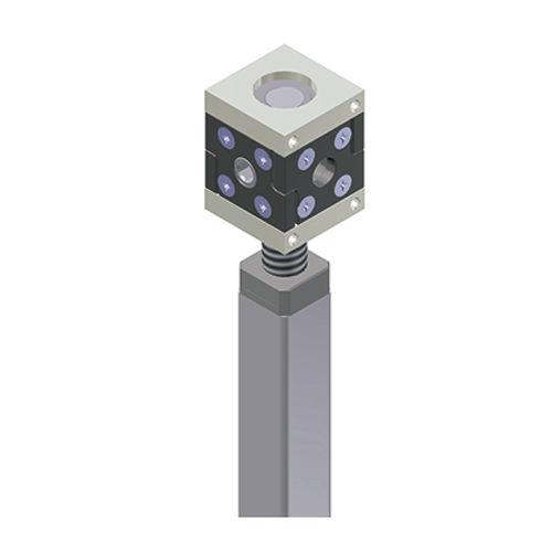 réducteur à couple conique / orthogonal / pour réglage de niveau de poste de travail assis/debout