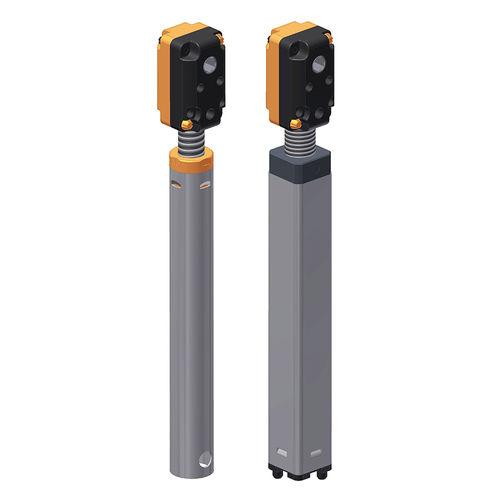 réducteur à couple conique / orthogonal / de haute rigidité / pour le réglage en hauteur de postes de travail
