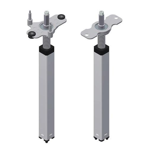 vérin mécanique motorisé / pour réglage en hauteur de poste de travail / télescopique