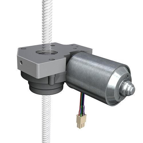 actionneur linéaire / électrique / à vis sans fin / compact