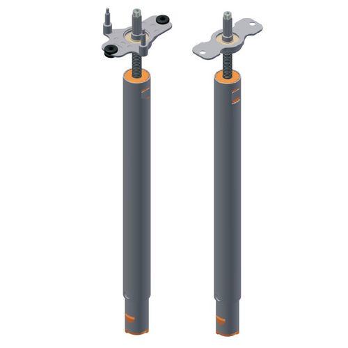 vérin mécanique télescopique / à vis tournante / motorisé / pour le réglage en hauteur de table