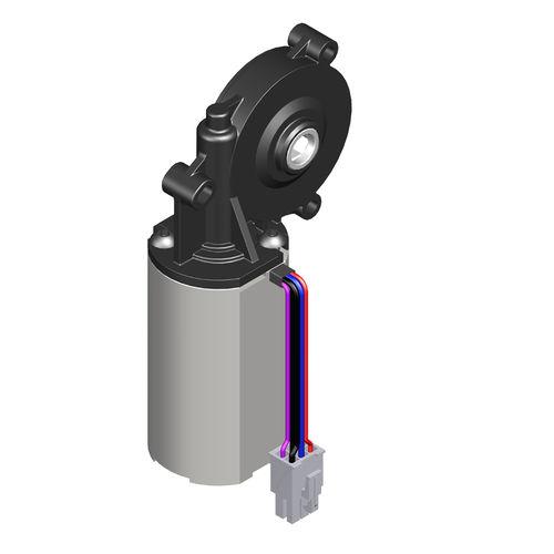 moto-réducteur électrique DC / orthogonal / à vis sans fin