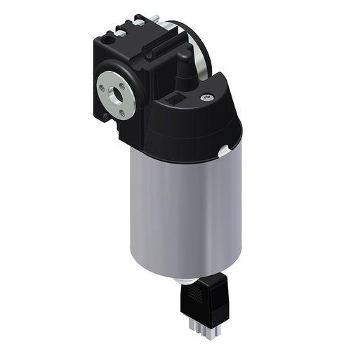 motoréducteur DC / à vis sans fin / orthogonal / 1 - 5 Nm