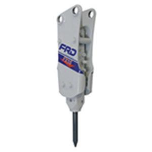 marteau piqueur hydraulique / pour pelle hydraulique / vertical / silencieux