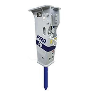 marteau piqueur hydraulique / pour porteur moyen / vertical / silencieux