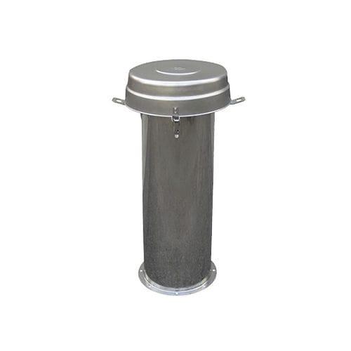 carter de filtre à cartouche / pour air comprimé / en acier inoxydable