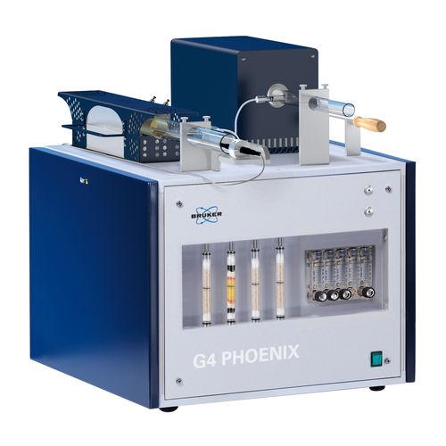 analyseur de concentration / d'hydrogène / benchtop / haute performance