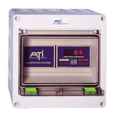 détecteur de gaz / individuel / compact / en coffret