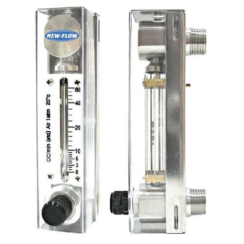 débitmètre à flotteur / pour air / pour liquides / à tube de verre