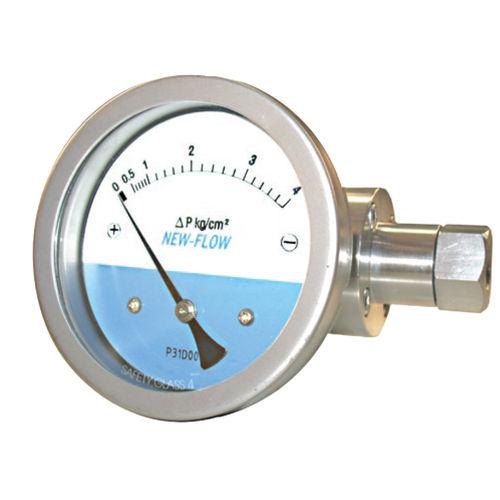 manomètre à cadran / à membrane / de process / en acier inoxydable