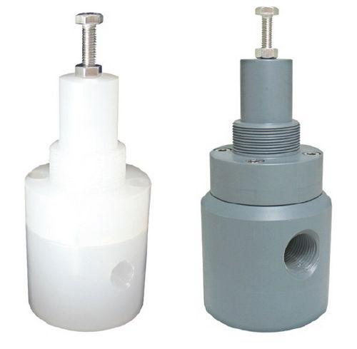soupape de décharge pour eau / à membrane