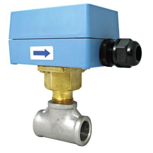 contrôleur de débit à palettes / pour liquides / en acier inoxydable / en laiton