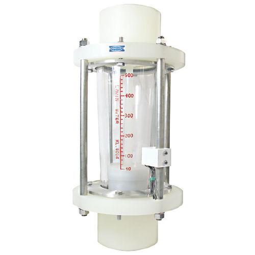 débitmètre à flotteur / pour liquides / pour gaz / à tube de verre