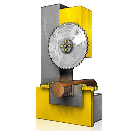 découpeuse à disque / pour métaux non ferreux / automatique / verticale