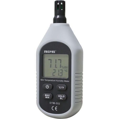 thermo-hygromètre numérique / à lecture directe / portable / compact
