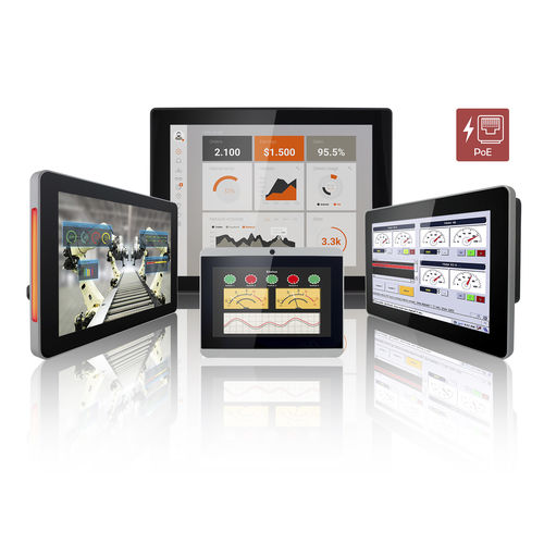 HMI tactile multi-touch