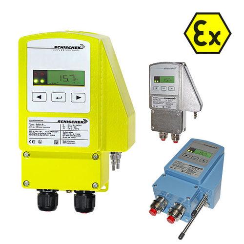 pressostat pour gaz / à membrane / différentiel / électronique