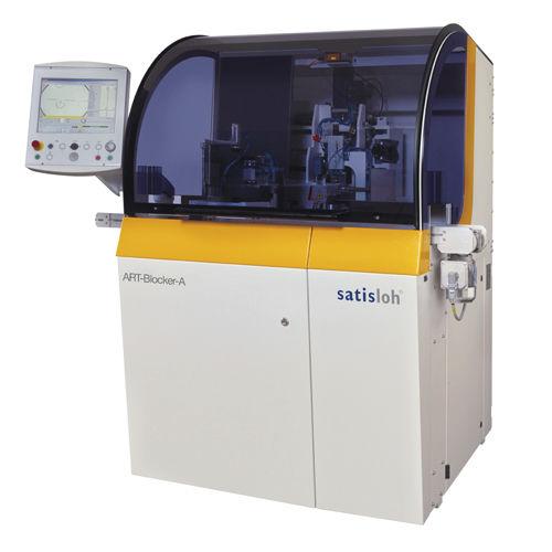 bloqueur de verres correcteurs automatique - Satisloh