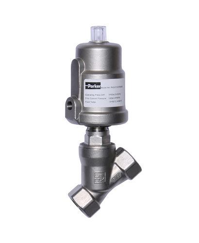vanne à piston / électrique / de contrôle / pour l'eau