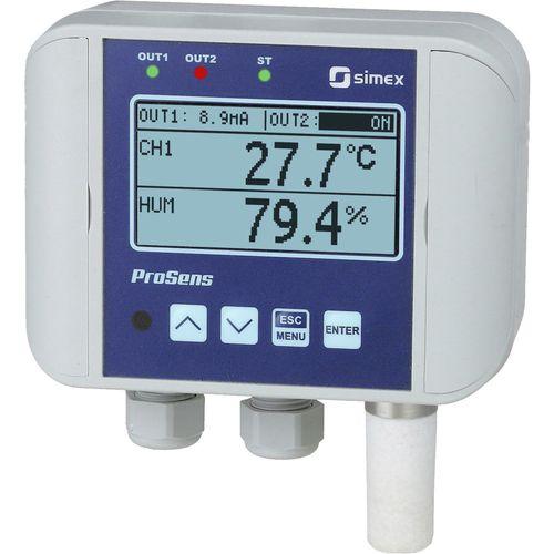 contrôleur de température avec régulation d'humidité - SIMEX Sp. z o.o.