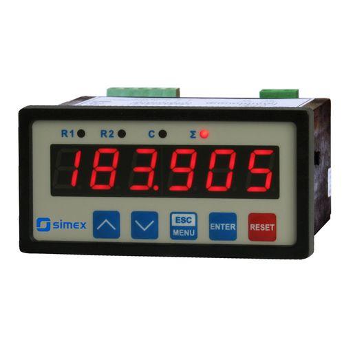 minuterie numérique / d'impulsion / montée en panneau