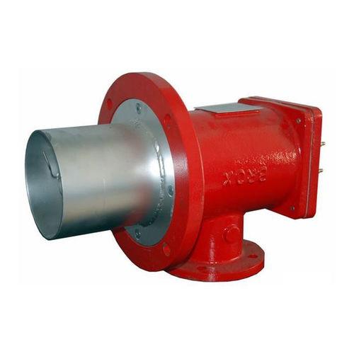 brûleur à gaz naturel / à prémélange / à 2 étages / haute température