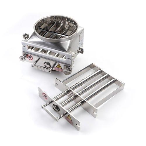 séparateur magnétique à grille / pour vrac / pour l'industrie agroalimentaire / à nettoyage facile
