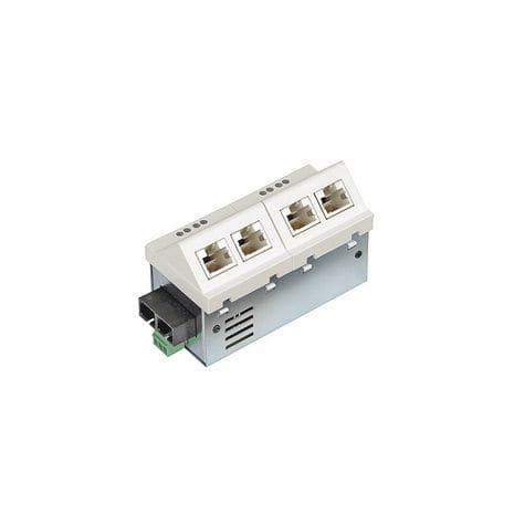 commutateur Ethernet non administrable / 5 ports / de fibre optique / RJ45