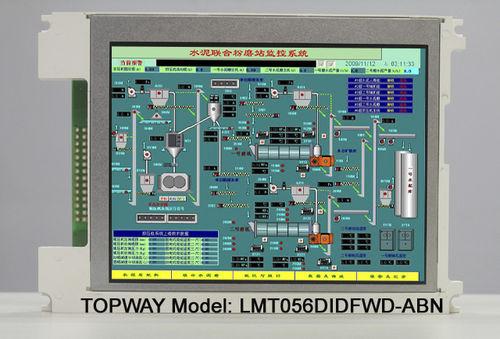 moniteur TFT / rétroéclairage à LED / à écran tactile multitouche / 15