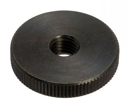 écrou moleté / plat / en acier / en acier inoxydable