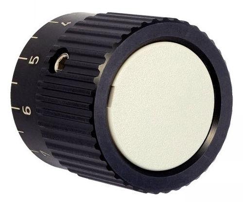 bouton de commande moleté / mécanique avec indicateur de position