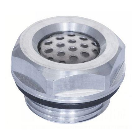 bouchon d'huile / rond / fileté / en aluminium