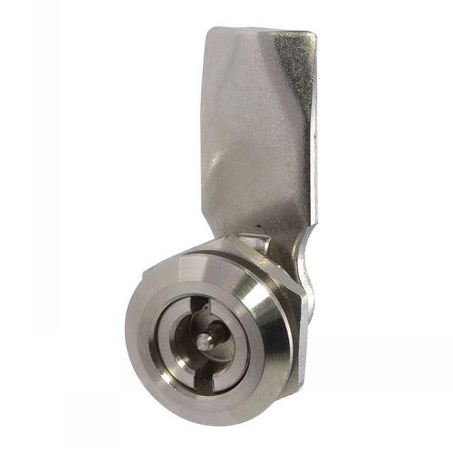 loquet à came / 1/4 tour / à clé / en acier inoxydable