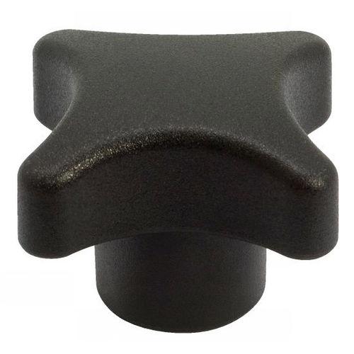 bouton fileté / croisillon / en technopolymère / ergonomique