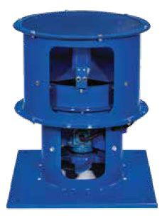 Ventilateur de toit VAX S CAS Series Venco Havalandirma