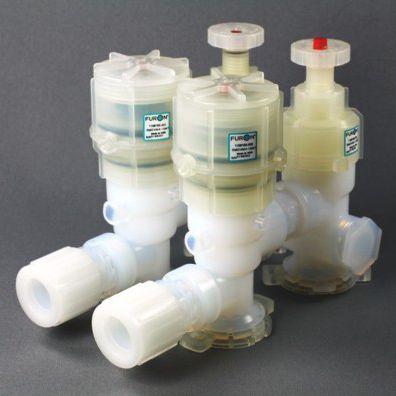 vanne à membrane / manuelle / à commande pneumatique / de distribution
