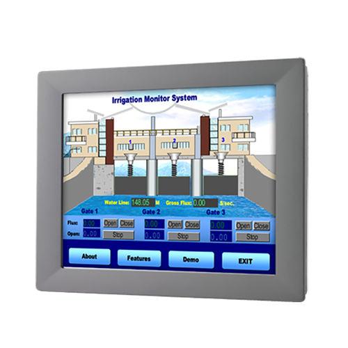 moniteur LCD / à écran tactile résistif / rétroéclairage à LED / 21.5