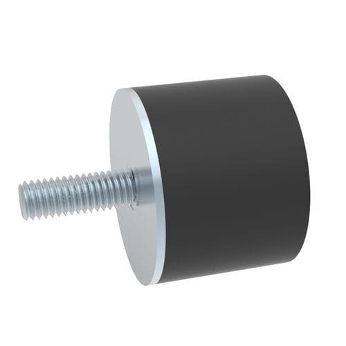 amortisseur de vibration / de choc / visco-élastique / industriel